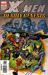 Portada del X-Men: Génesis Mortal #1 de Marc Silvestri