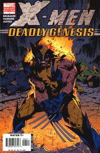 Portada del X-Men: Génesis Mortal de Trevor Hairshine