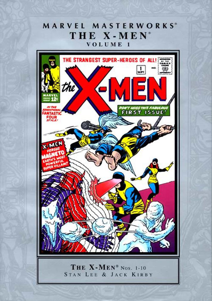 Marvel Masterworks X-Men #1/kirby