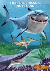 Buscando a Nemo/Pixar/Disney/ Los peces son amigos, no comida