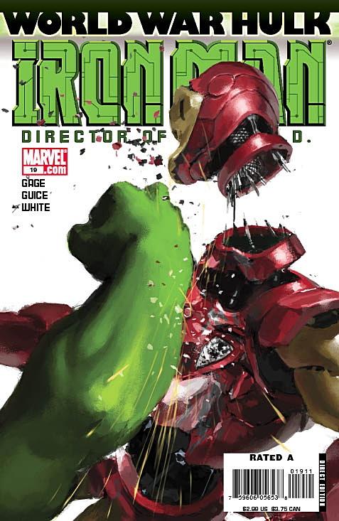 Portada del Iron Man #19/Marvel