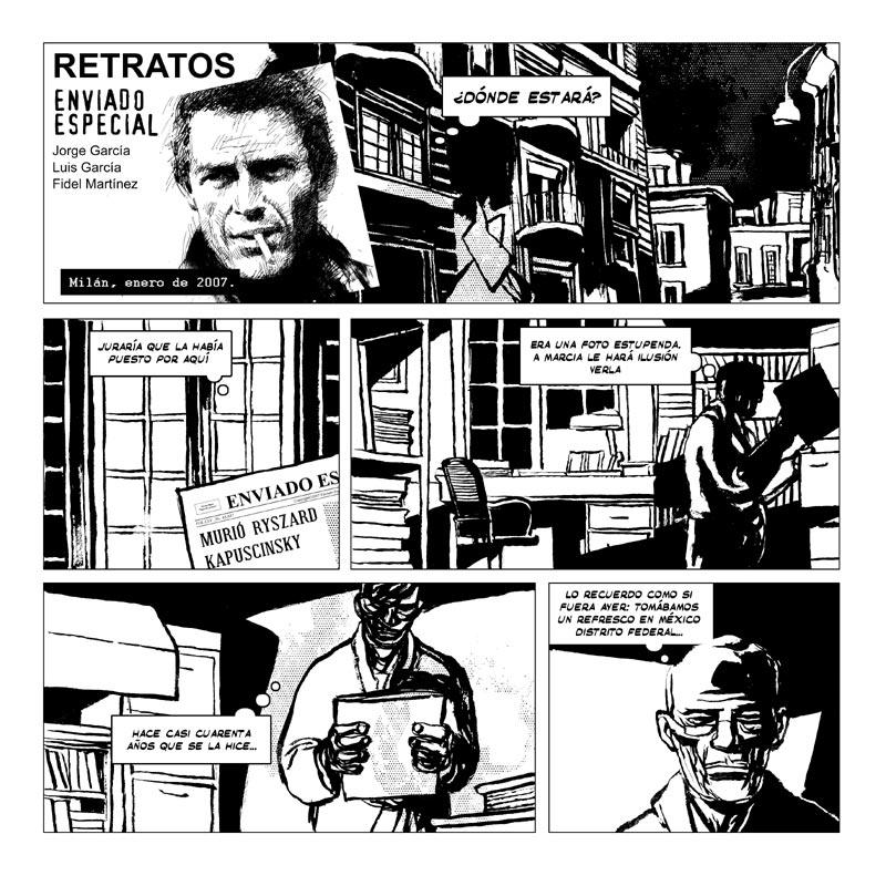 Luis García, Fidel Martínez/Enviado especial