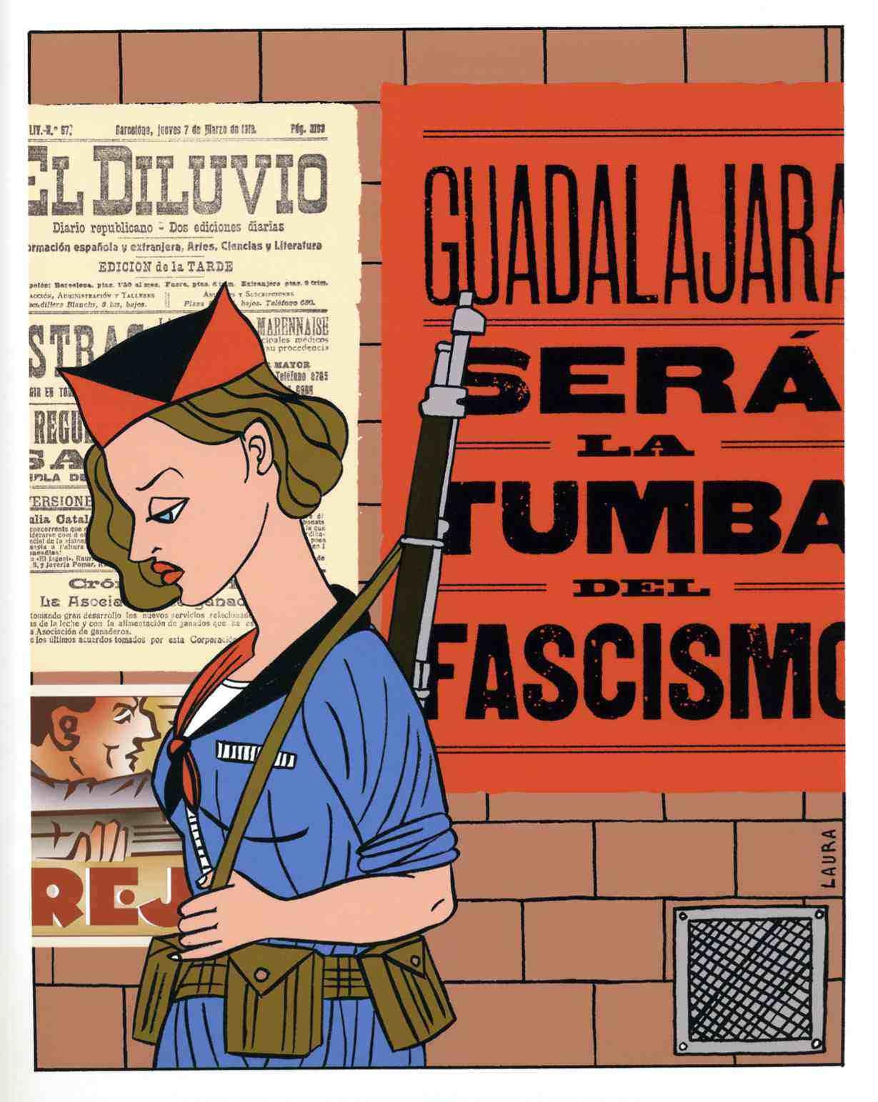 Laura/Guadalajara será la tumba del fascismo