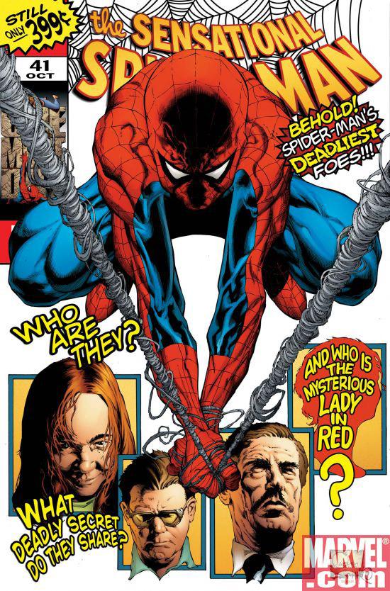 Portada del Sensational Spider-Man #41/Joe Quesada/Marvel
