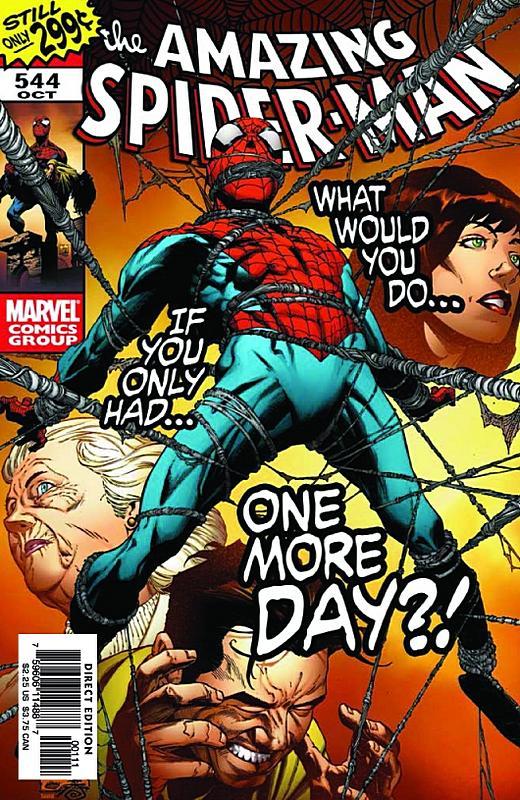 Amazing Spider-Man #544/Joe Quesada/Marvel
