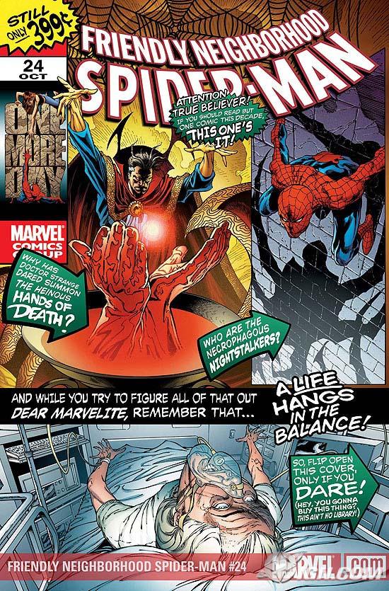 Portada del Friendly Neighborhood  Spider-Man #24/Joe Quesada/Marvel