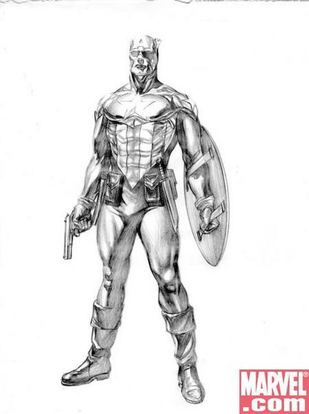 ZN Marvel: Alex Ross diseña al nuevo Capitán América | Zona Negativa