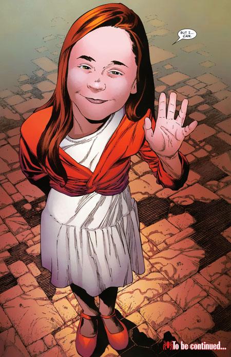 Última página del Friendly Neighborhood  Spider-Man #24/Joe Quesada/Marvel