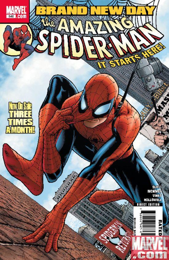 Portada del Amazing Spider-Man #546/Steve McNiven/Marvel