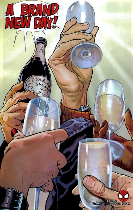 Imagen Amazing Spider-Man #545/Joe Quesada/Marvel