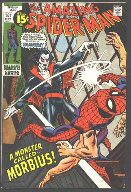 Imagen Amazing Spider-Man #101/Gil Kane/Marvel