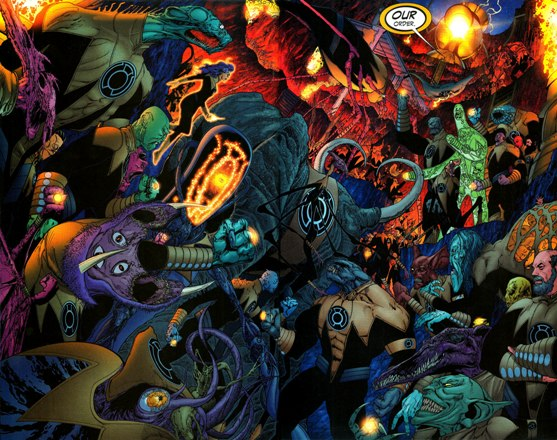 Sinestro Corps War, El Análisis global 0239