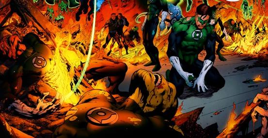 Sinestro Corps War, El Análisis global 0242