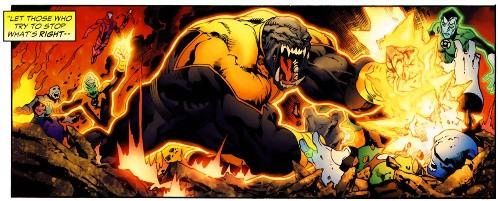 Sinestro Corps War, El Análisis global 0243