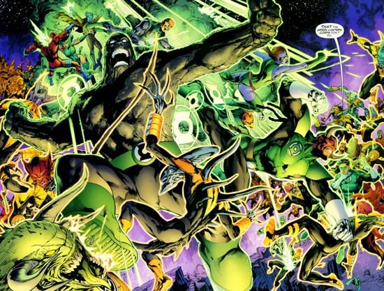Sinestro Corps War, El Análisis global 0245