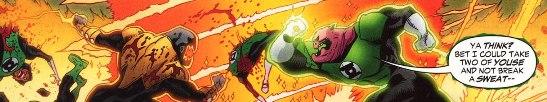 Sinestro Corps War, El Análisis global 0246