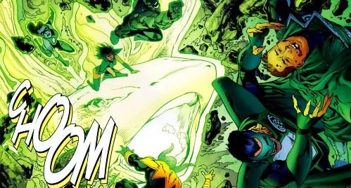 Sinestro Corps War, El Análisis global 0248