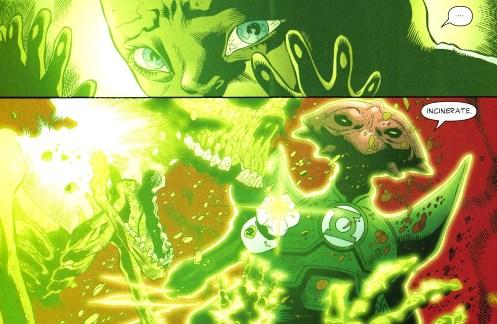 Sinestro Corps War, El Análisis global 0250