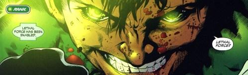 Sinestro Corps War, El Análisis global 0251