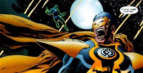 Sinestro Corps War, El Análisis global 0254