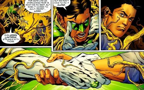 Sinestro Corps War, El Análisis global 0255