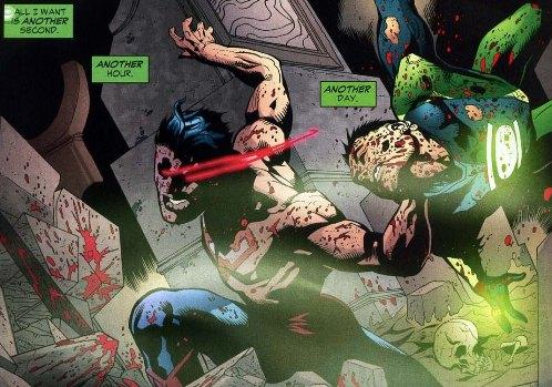 Sinestro Corps War, El Análisis global 0258