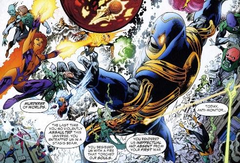 Sinestro Corps War, El Análisis global 0260