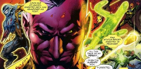 Sinestro Corps War, El Análisis global 0261