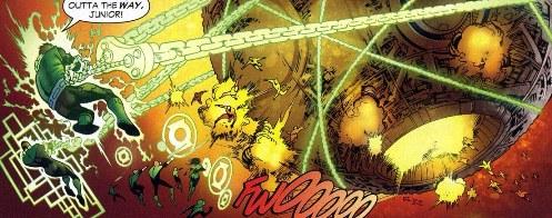 Sinestro Corps War, El Análisis global 0262