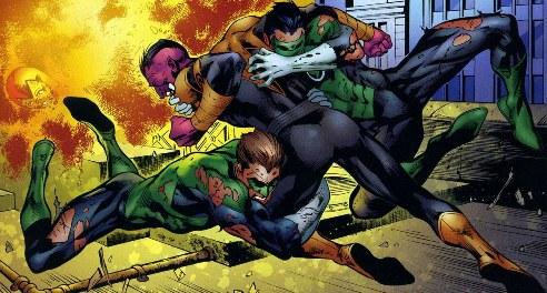 Sinestro Corps War, El Análisis global 0263