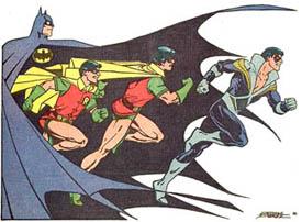 Dick Grayson como Nightwing