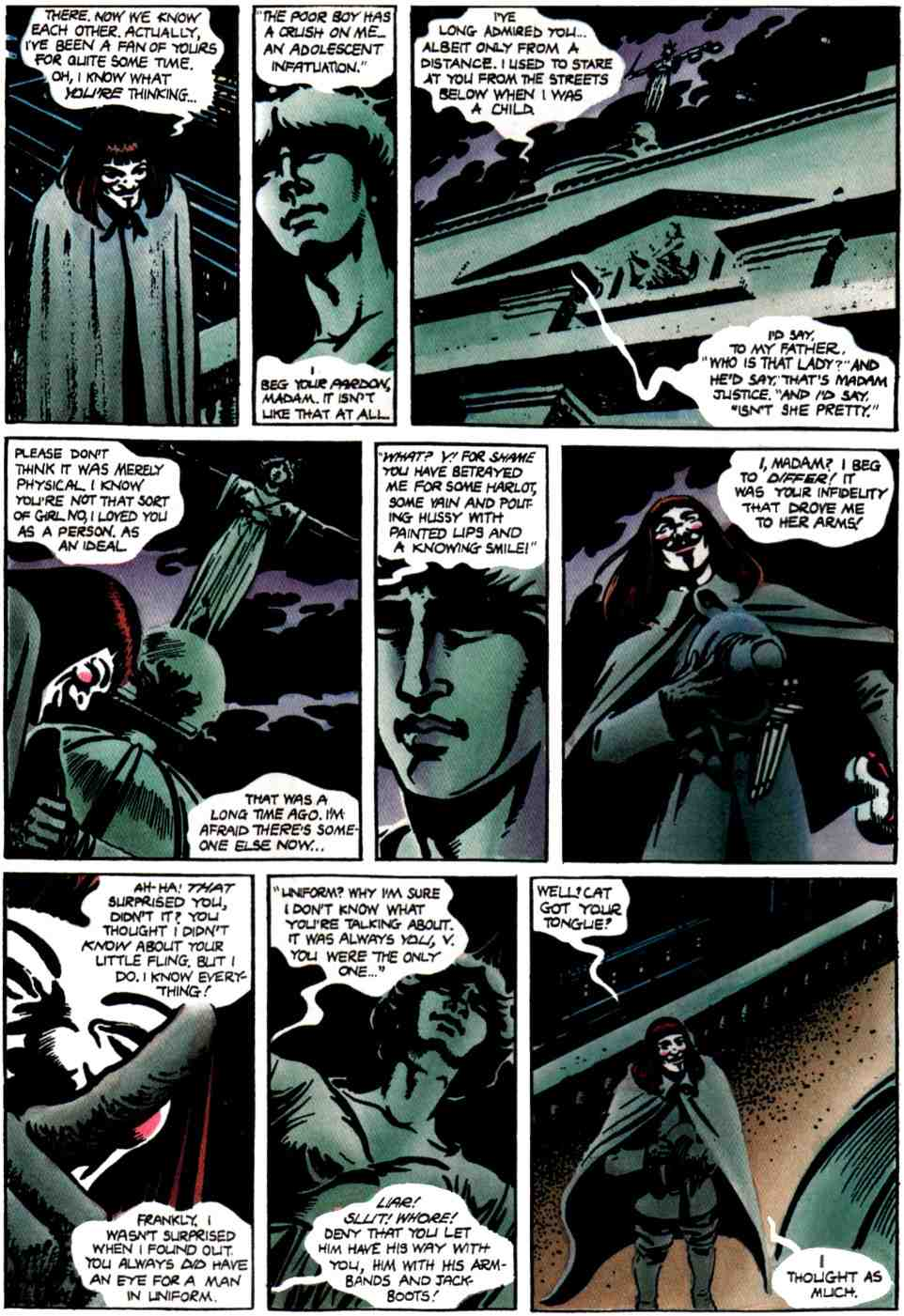 V for Vendetta comic  Read V for Vendetta comic online in