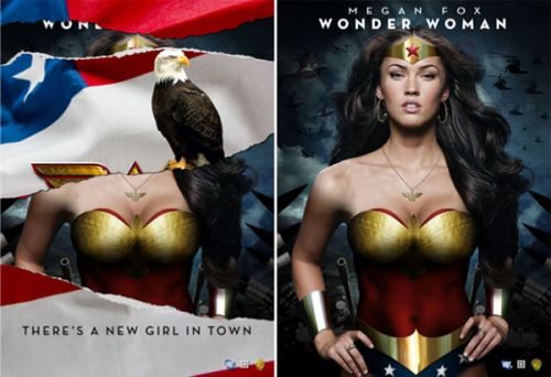 megan fox wonder woman pics. Megan Fox NO ES Wonder Woman