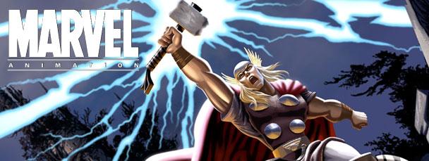 Thor muy animado