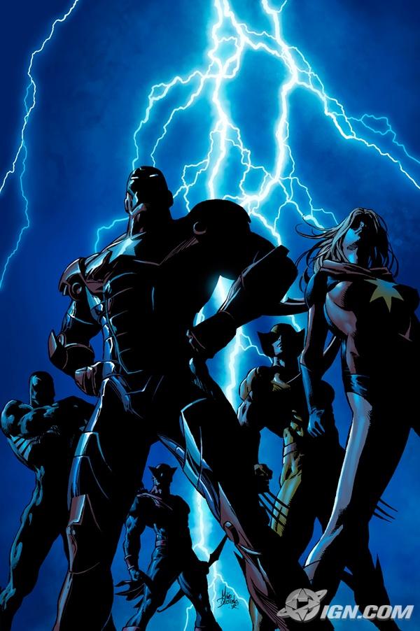 Portada Dark Avengers #1/Mike Deodato/Marvel-Vía IGN