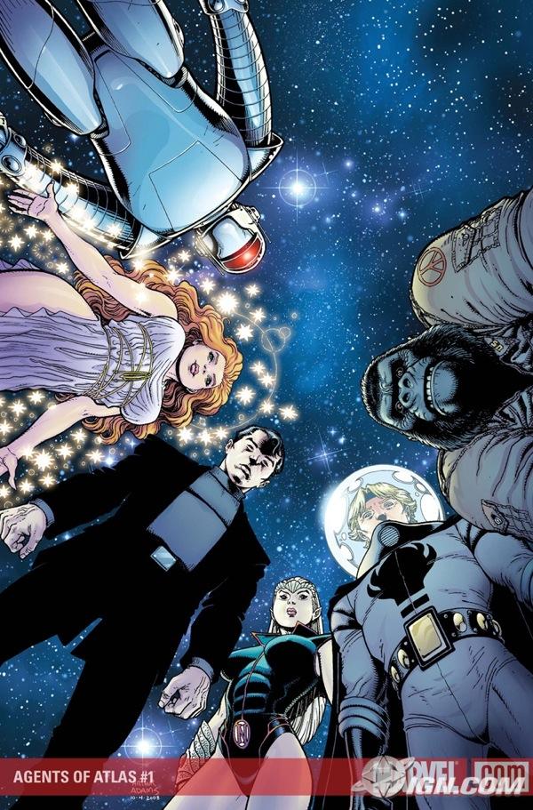 Portada Agents Of Atlas #1/Art Adams/Marvel