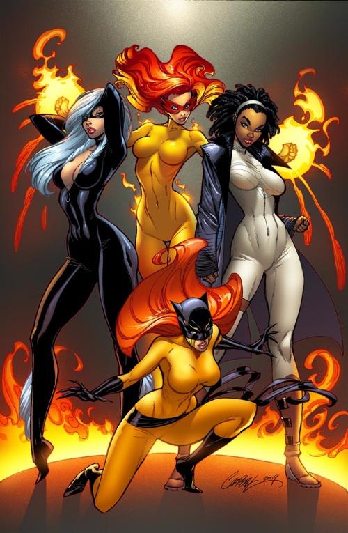 Marvel Divas/J.Scott Campbell