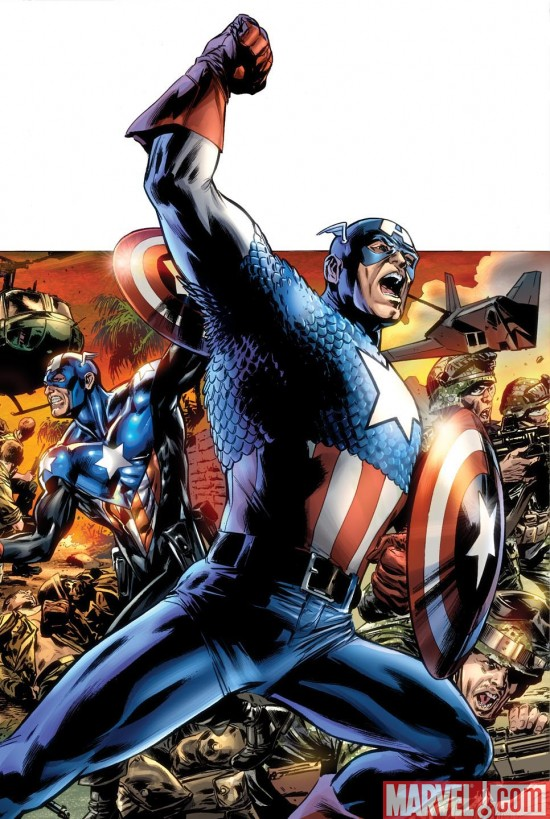 CAPTAIN AMERICA REBORN #1/BRYAN HITCH