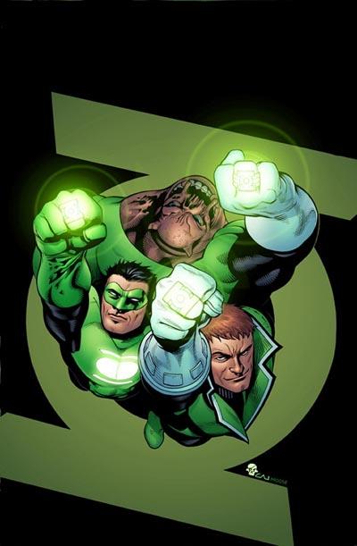 Portada de Green Lantern Corps