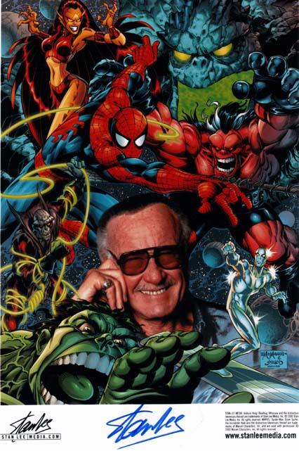Litografia de Stan Lee