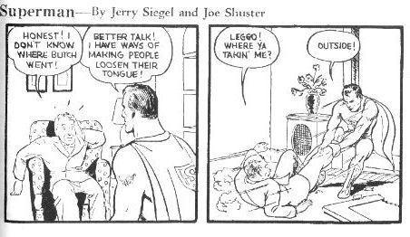 Una de las primeras creaciones de Paul Cassidy junto a Joe Shuster, en 1938