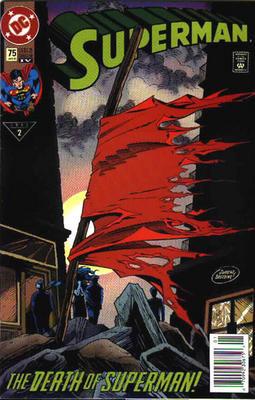 La capa de Superman tal y como la hubiera dejado Doomsday... sin Cassidy