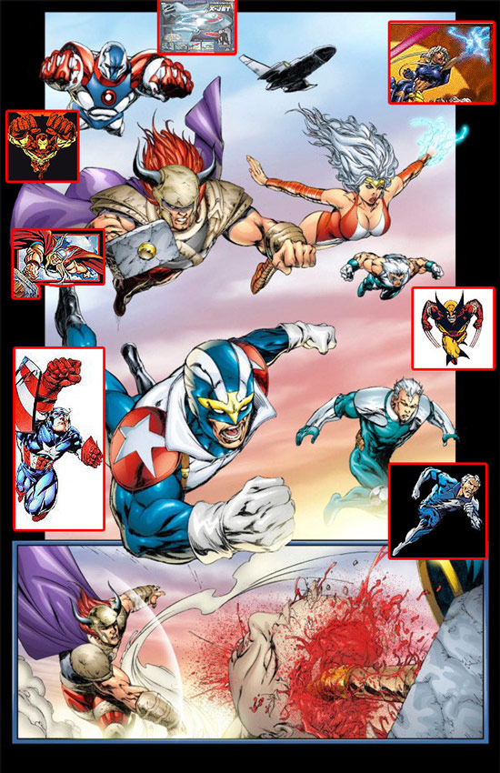 [Comics] Plagios , Homenajes o similes... 0122