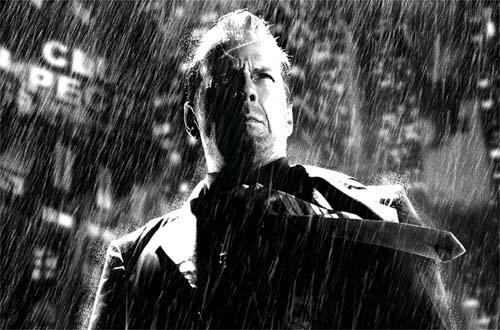 Bruce Willis como Hartigan en Ese Cobarde Bastardo