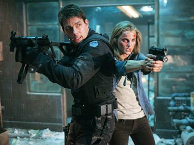 Tom de soldadito y Felicity armada en MI3