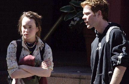 Ellen Page y Shawn Ashmore