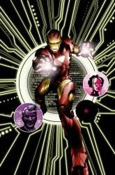 Portada de Iron Man: The Inevitable