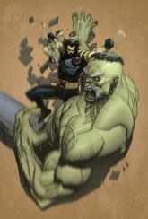 Ultimate Hulk vs Lobezno
