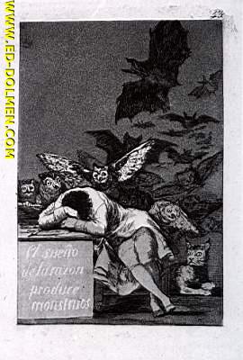 El sueño de la razón/Goya