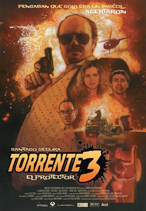 Cartel de Struzan para Torrente 3